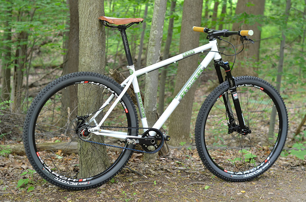 The REEB Dikyelous Demo Bike