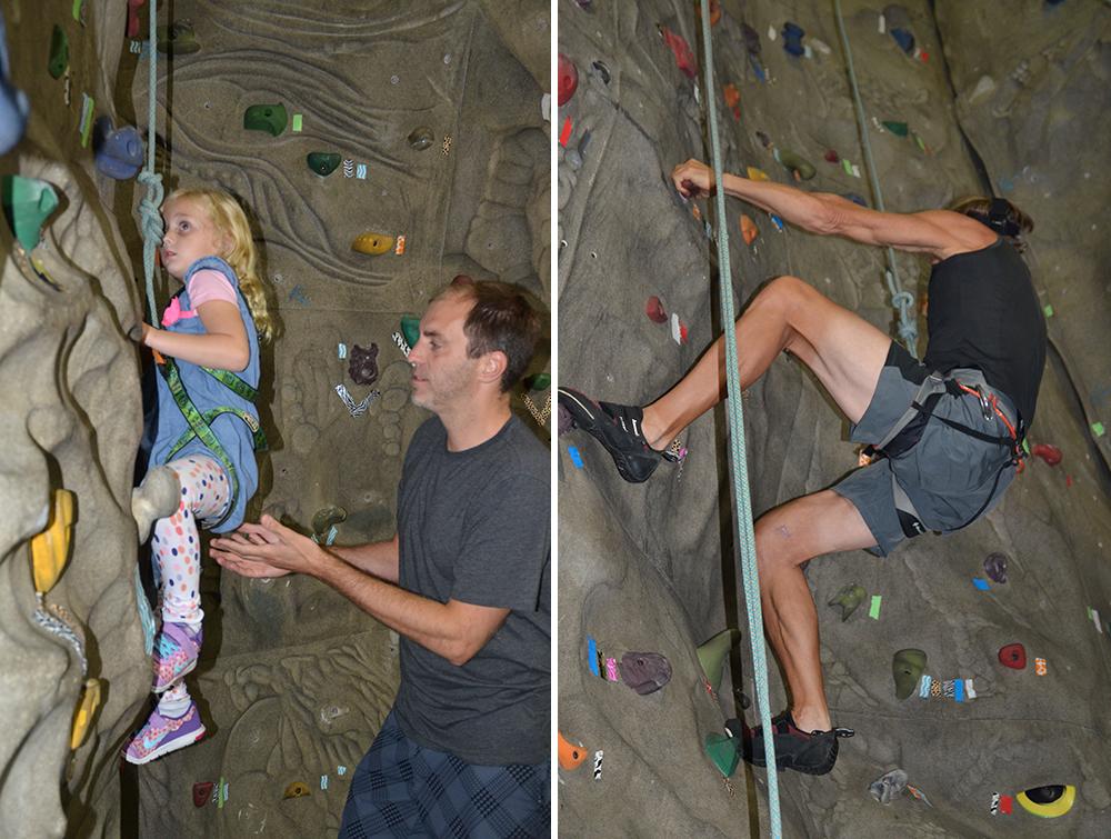 Climbing Wall Akron Ohio