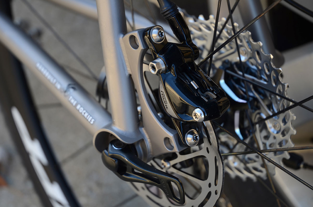 Moots Psychlo X with SRAM Rival 1
