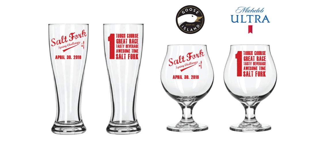 Salt Fork Finisher's Glasses