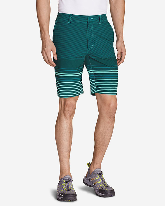 "Eddie Bauer Men's Amphib 10"" Chino Shorts - Print"