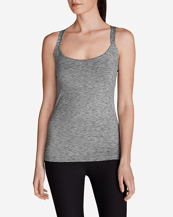 Eddie Bauer Women's Aster Cross Back Cami - Space Dye