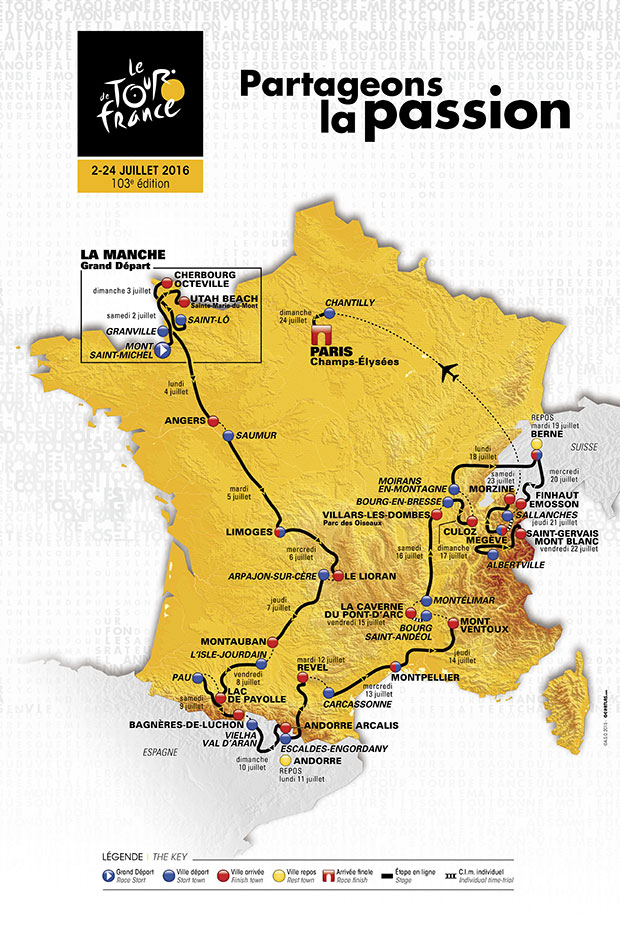 2016 Tour deFrance