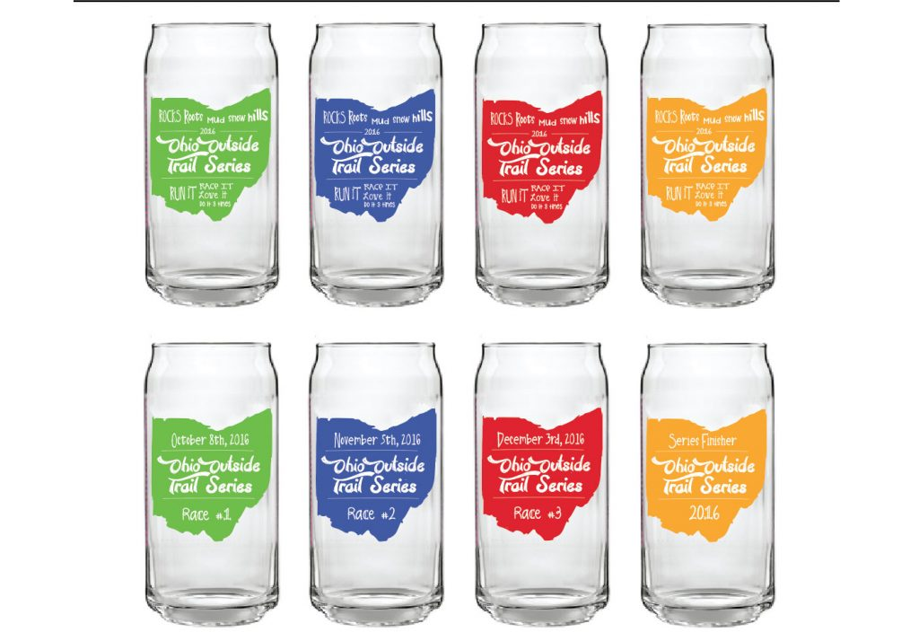2016 Ohio Outside Trail Series Glass Collection