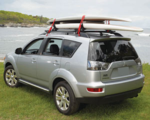 ZIP Cars SUP rack