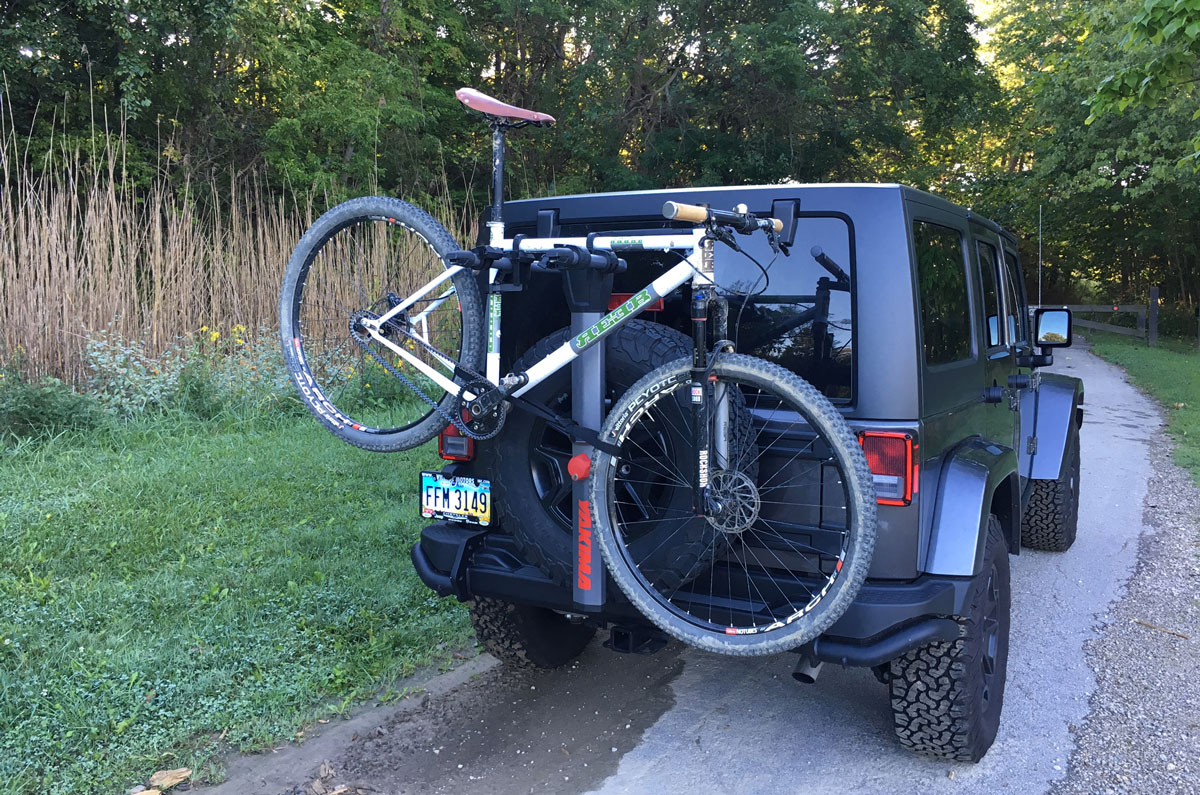 yakima spareride bike rack review jeep wrangler ohio. Black Bedroom Furniture Sets. Home Design Ideas