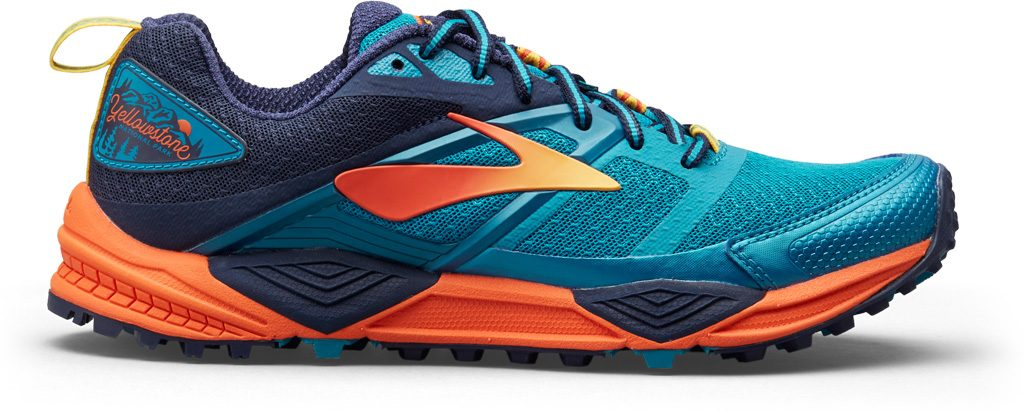 """Brooks Cascadia 12 """"Yellowstone"""" for Men and Women"""