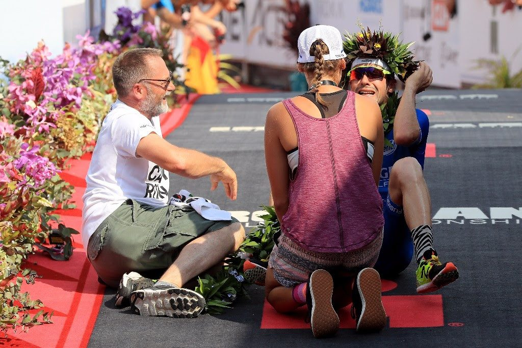 RECORDS HAVE FALLEN: Last year it was the run course record. This year, Patrick Lange from Germany went for the full course record and smashed it by two minutes. Patrick Lange is the 2017 Men's IRONMAN World Champion!