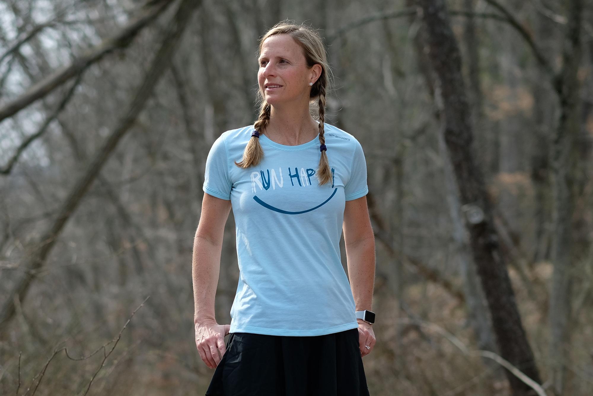 Women's Running Skirts and Run Happy Tee