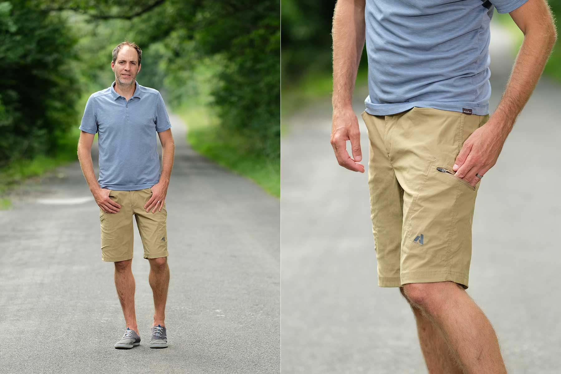 Eddie Bauer Travel Clothing | Eddie Bauer Contour Polo and Mr. Guide Pro Shorts