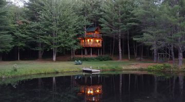 Moose Meadow Lodge and Treehouse | Vermont Treehouse