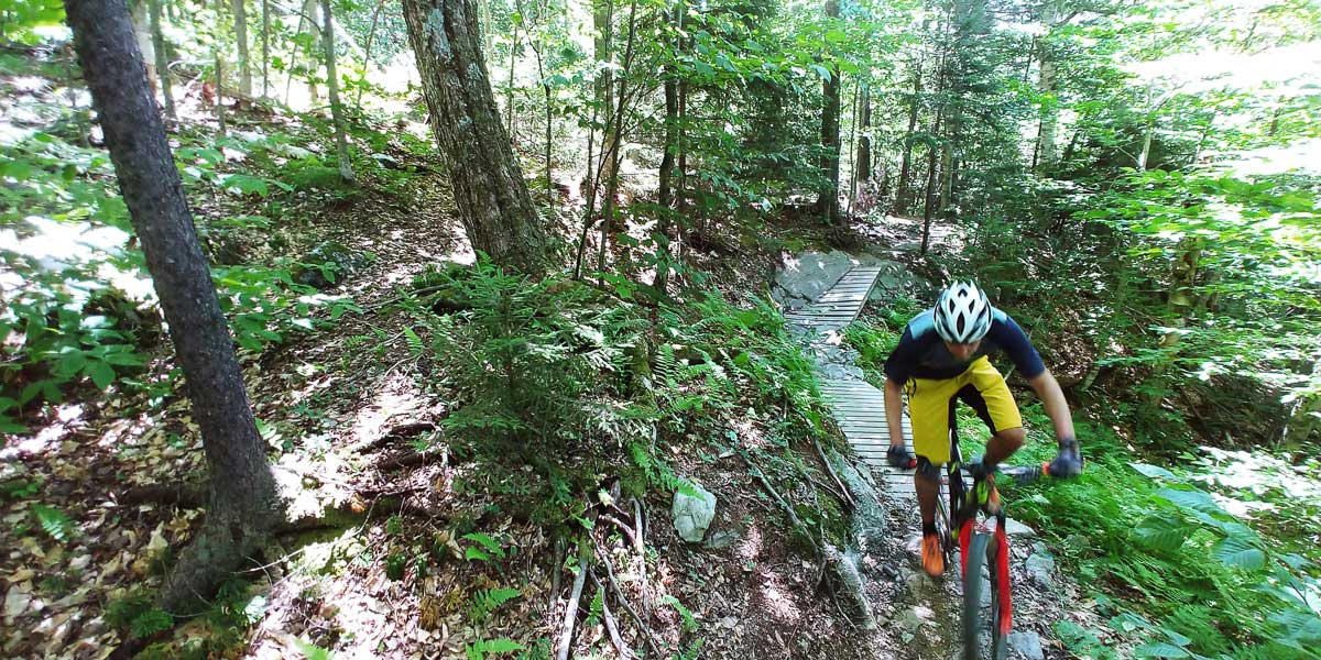 Stowe Mountain Lodge Mountain Biking