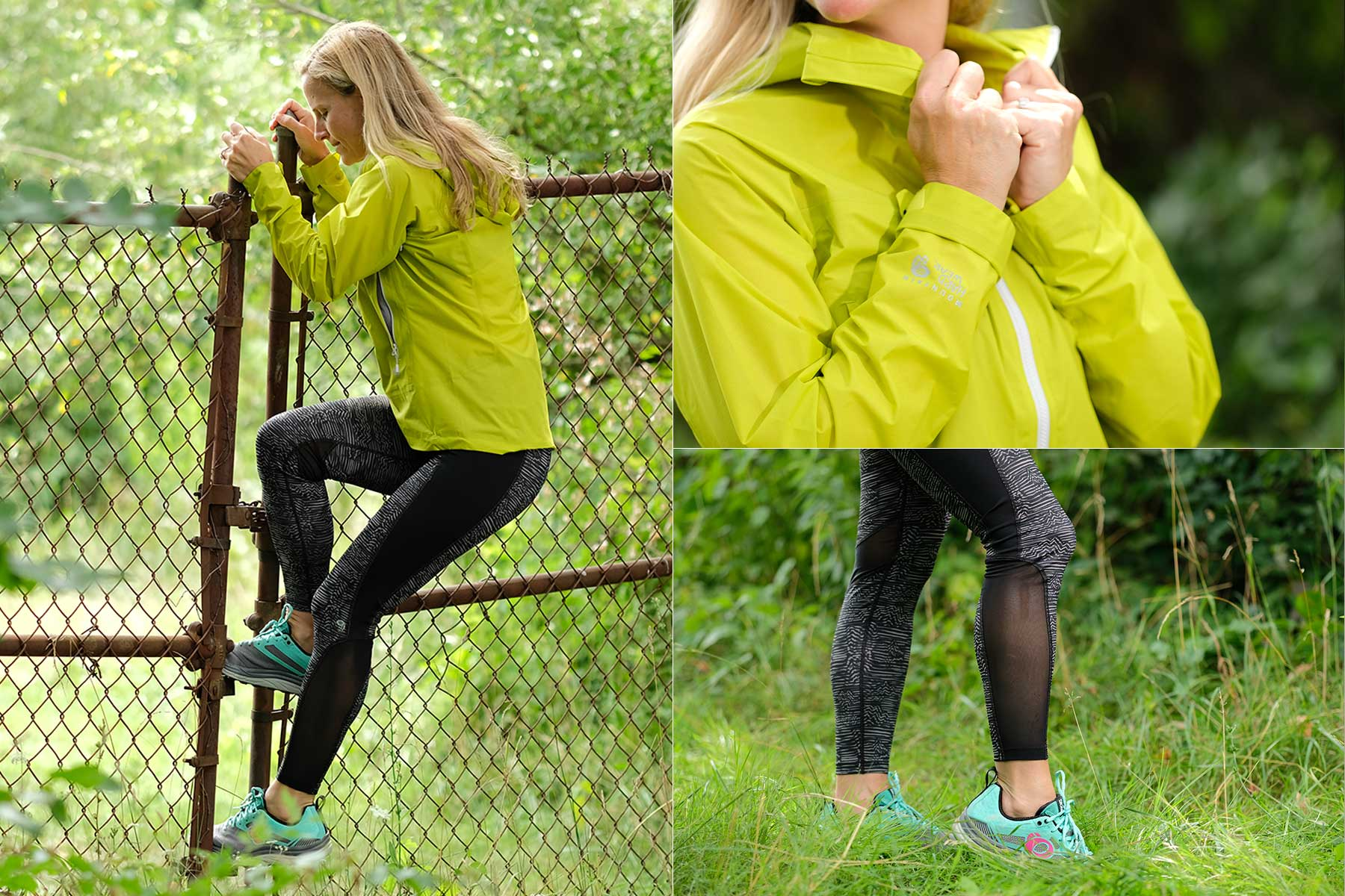 Mountain Hardware Quasar Lite Jacket and Synergist Tight