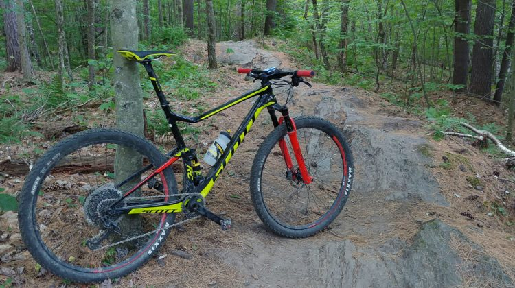 Perry Hill Mountain Bike Trails in Waterbury Vermont