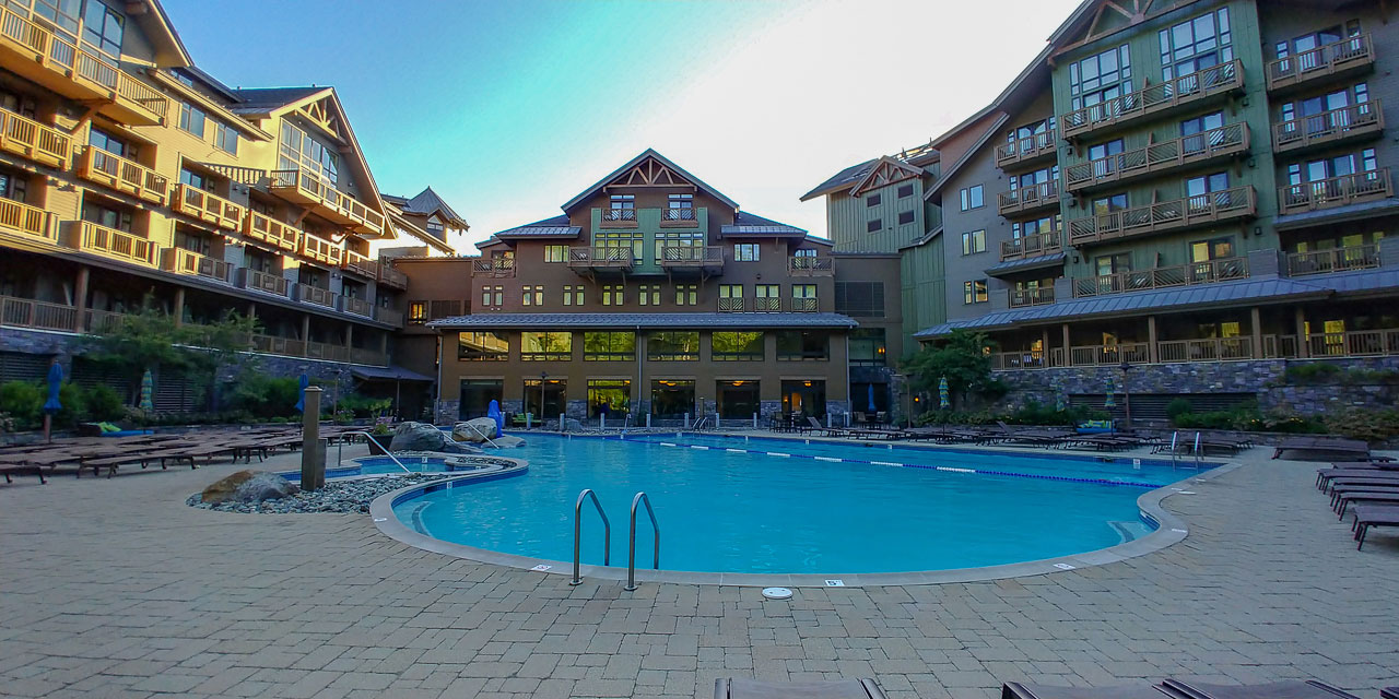 Stowe Mountain Lodge Pool