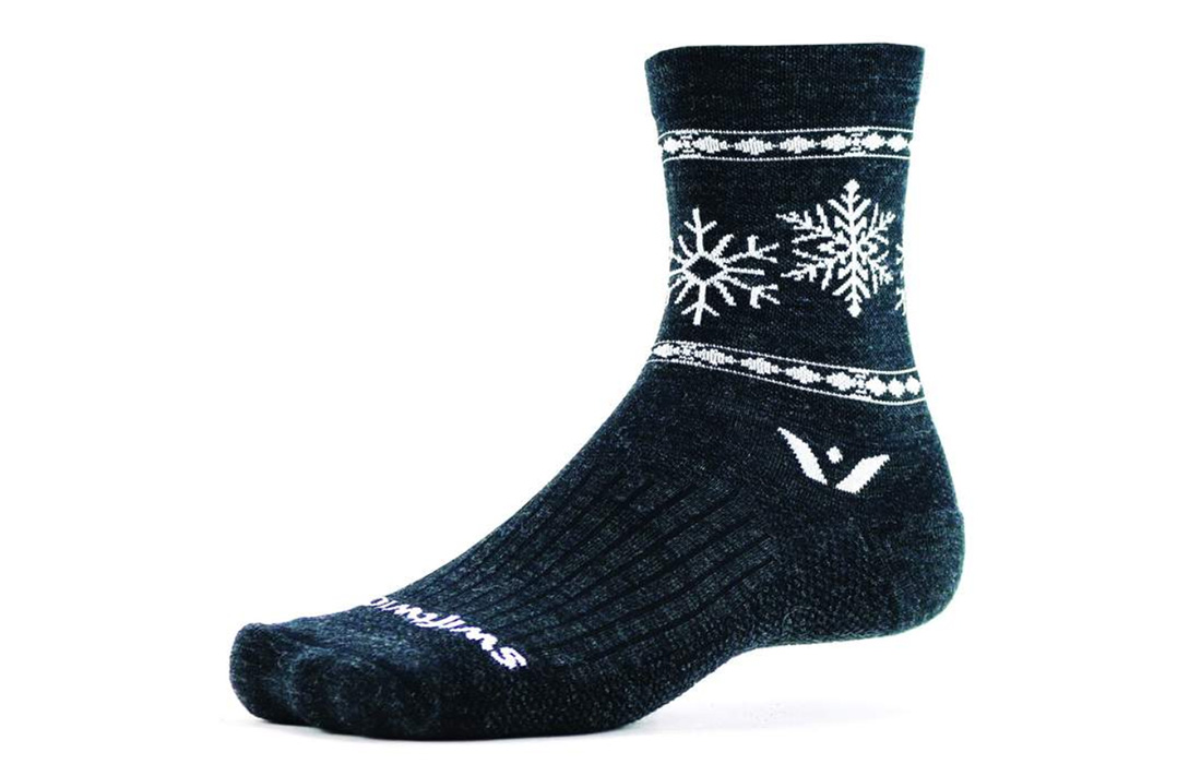 Swiftwick Snow Flake Socks