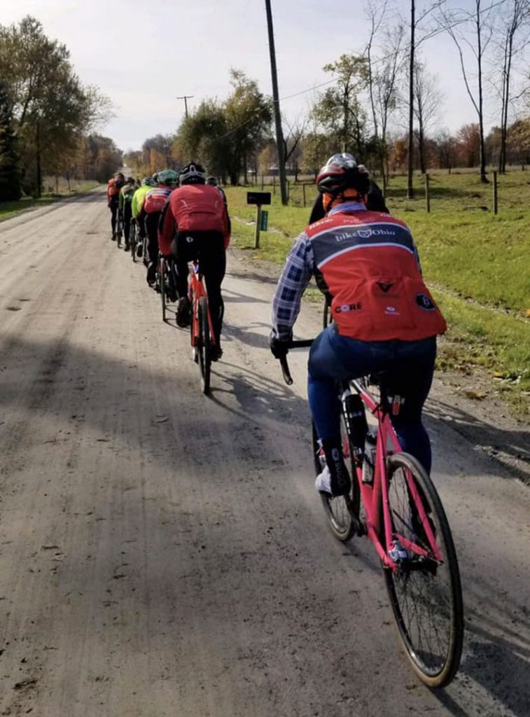Road Apple Roubaix Cycling Event
