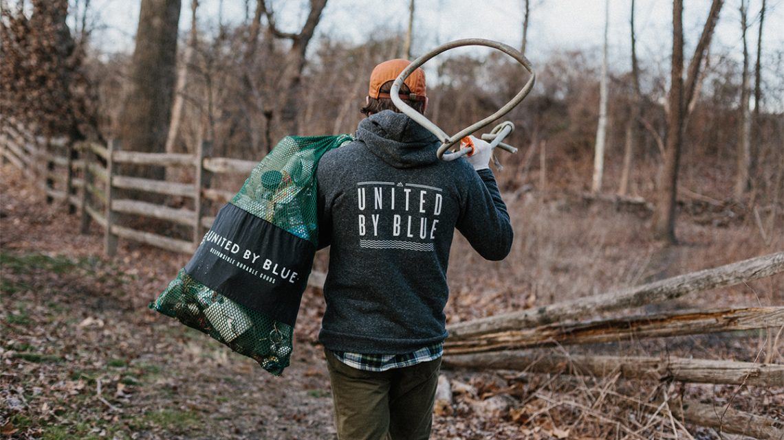 United By Blue and Maker's Mark Team Up To Clean Waterways