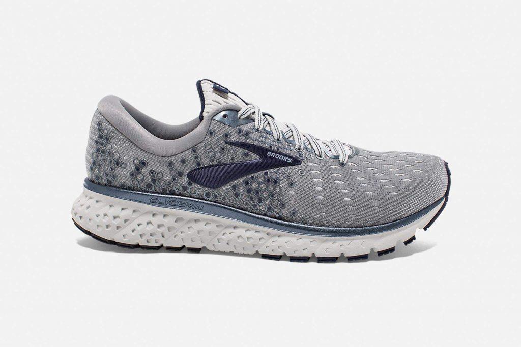 Brooks Glycerin 17 cushioned running shoe
