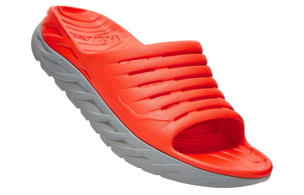 HOKA ONE ONE Slide is available as a slide or flip flop