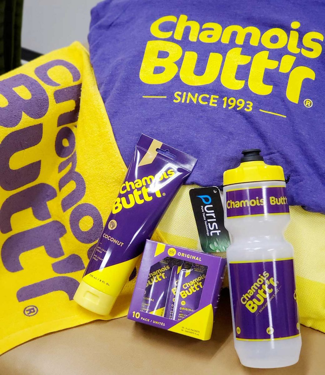 Win a Care Package from Chamois Butt'r