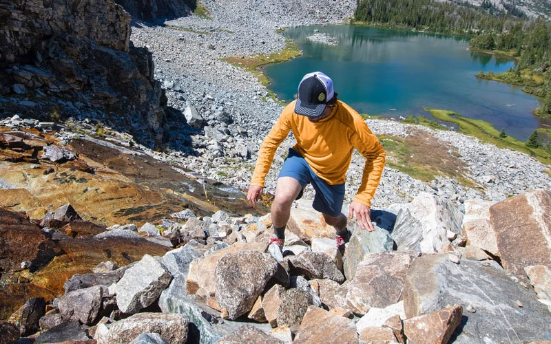 Hiking apparel and gear