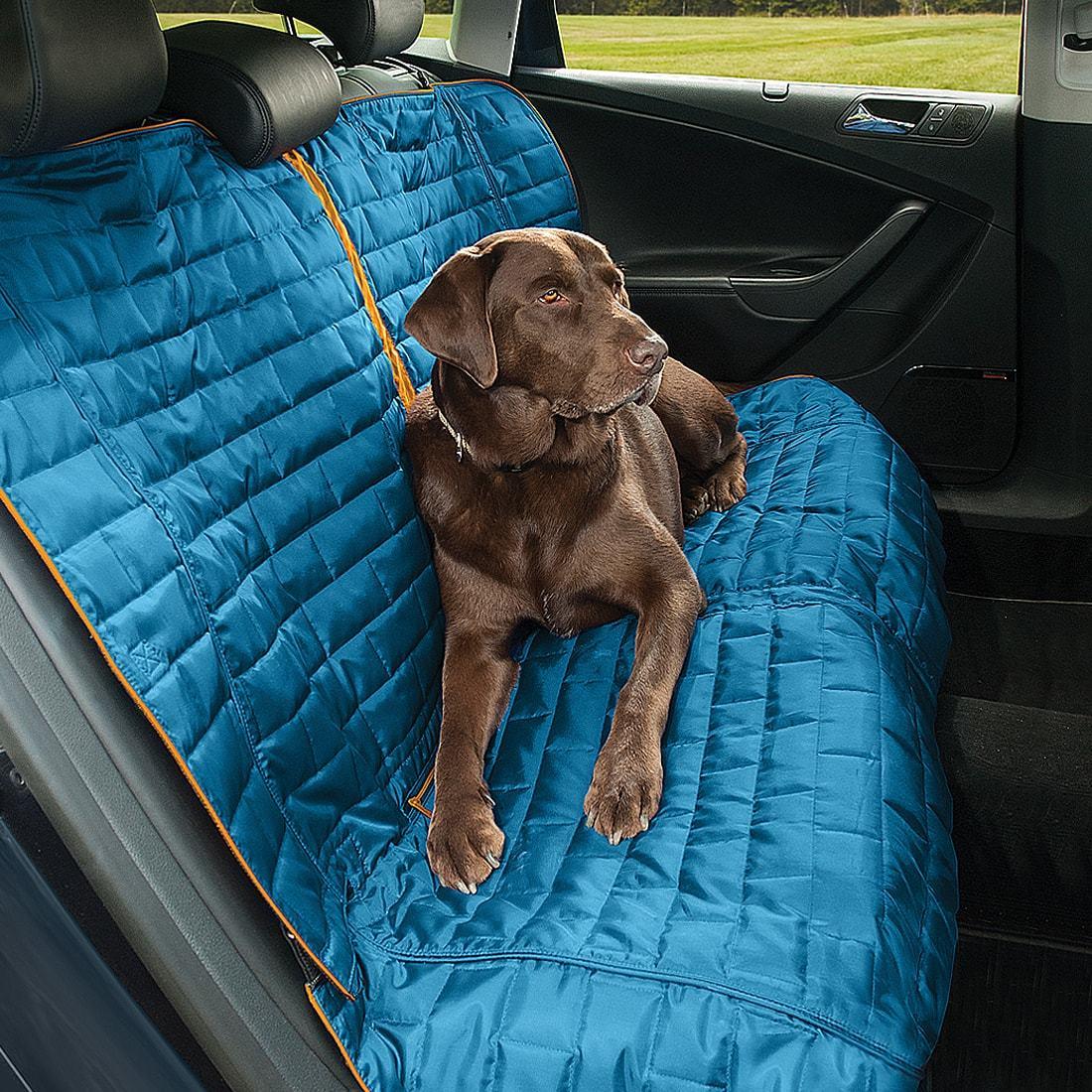 Kurgo Loft Bench Seat Cover Blue