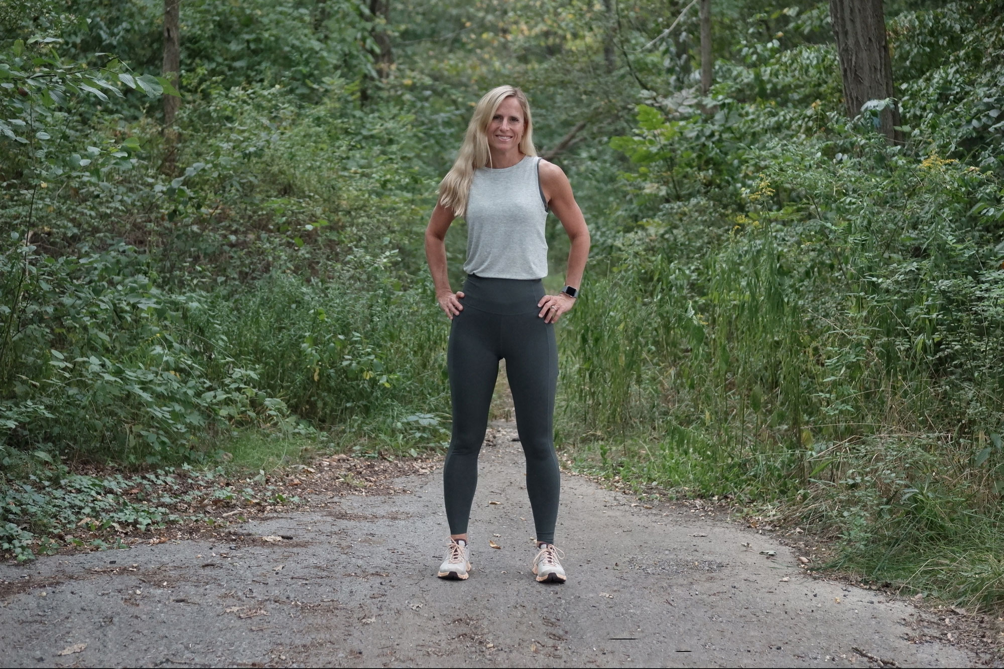 Lolë Step Up Ultra High-Waisted Ankle Leggings